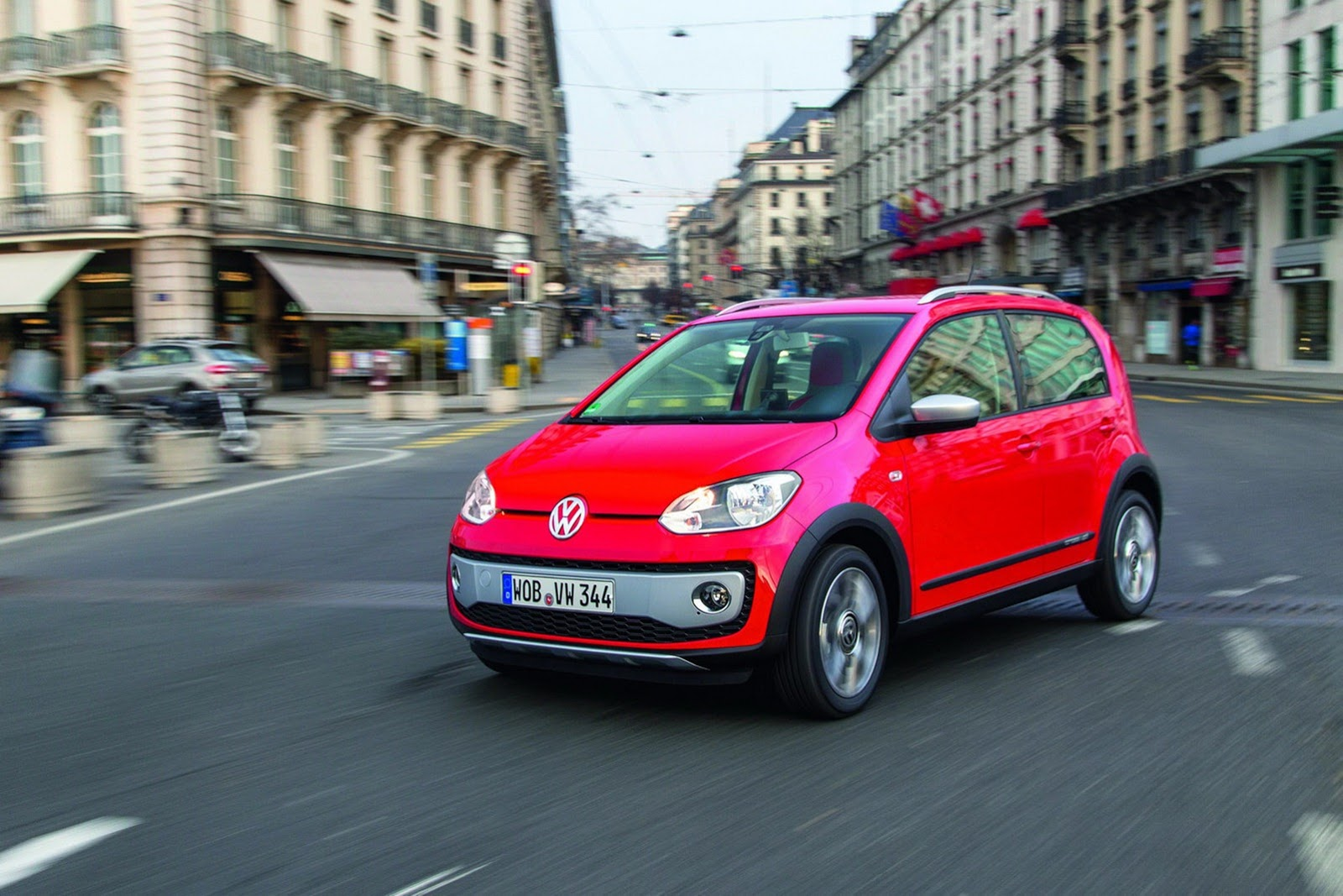 Фотогалерея мини-кроссовера Volkswagen Cross Up!